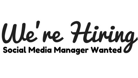 Social Media Manager Wanted